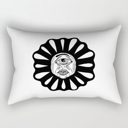 THIRD EYE FLOWER Rectangular Pillow