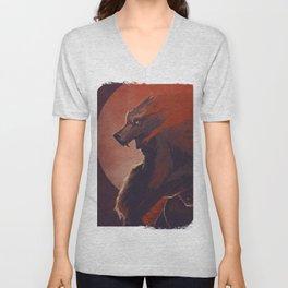 Lone Wolf Hanzo Unisex V-Neck