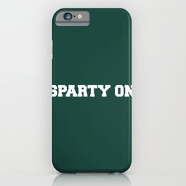 Sparty On iPhone Case