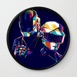 Daft WPAP Punk Wall Clock