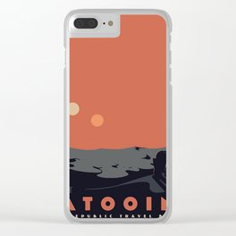 Visit Tatooine Clear iPhone Case