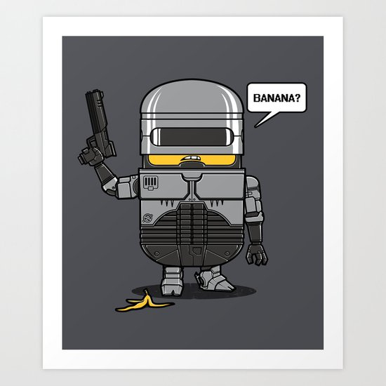 Despicable Law Enforcer Art Print
