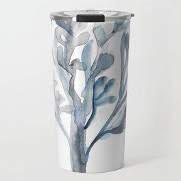 Watercolour Tree 5  Modern Watercolor Art   Abstract Watercolors Travel Mug