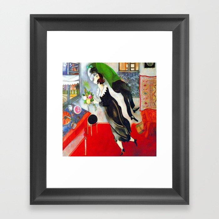 Marc Chagall The Birthday Gerahmter Kunstdruck