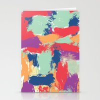 funky Stationery Cards featuring Funky by Georgia Dritsakou