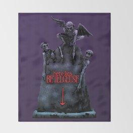 Here Lies Betelgeuse Throw Blanket