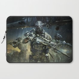 Night time Sniper Hunting Laptop Sleeve