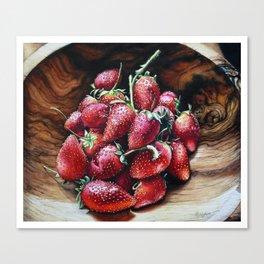 Swaziland Strawberries Canvas Print