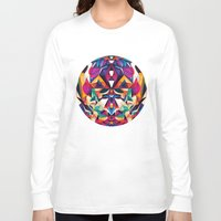 shipping Long Sleeve T-shirts featuring Emotion in Motion by Anai Greog