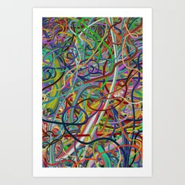Wired #3 (1998) Art Print