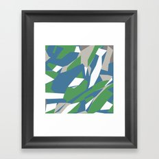 Hastings Zoom Green Framed Art Print