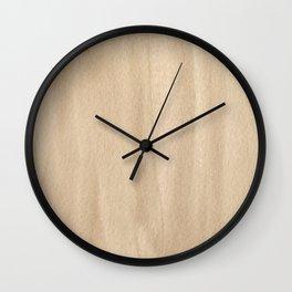 151208 10.Raw Umber Wall Clock