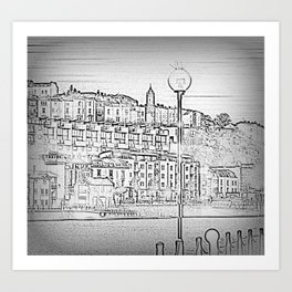 Bristol Harbourside Art Print