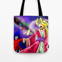Starry Love Tote Bag
