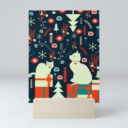 Look what Santa brought Mini Art Print