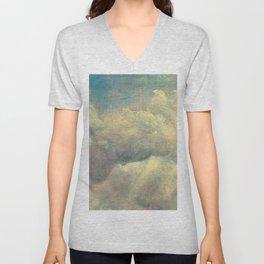 "John Constable ""A Cloud Study"" 9. Unisex V-Neck"