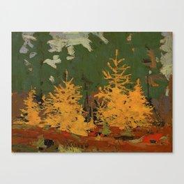 Tom Thomson Tamarack 1915 Canadian Landscape Artist Canvas Print