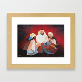 We Three Kıngs Framed Art Print