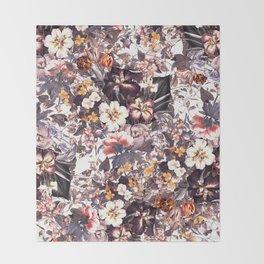 Summer Botanical Garden XI Throw Blanket