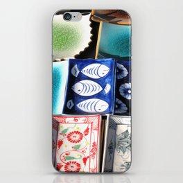 Ceramic Tableware iPhone Skin