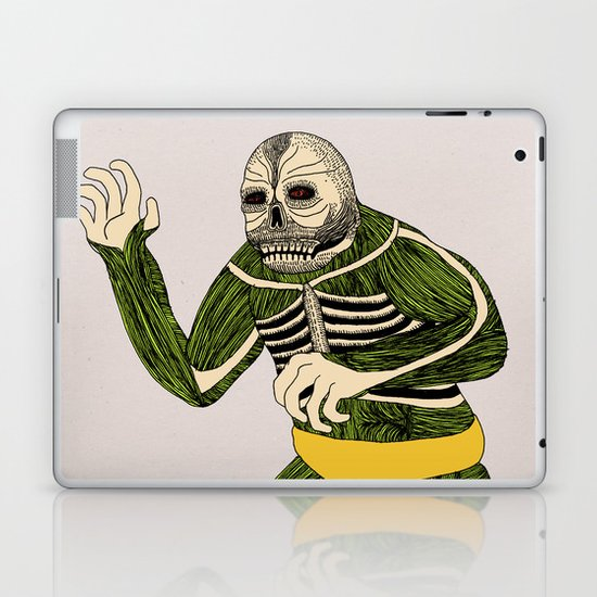 The Original Glowing Skull Laptop & iPad Skin