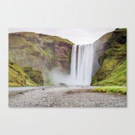 Skogafoss waterfall Canvas Print