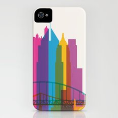 Shapes of Pittsburgh. Accurate to scale Slim Case iPhone (4, 4s)