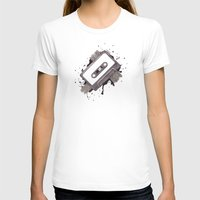 cassette T-shirts featuring Cassette by One Curious Chip