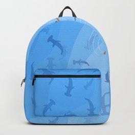 Shark Beach Swimmer  Backpack