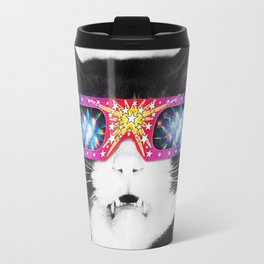 Laser Cat Travel Mug