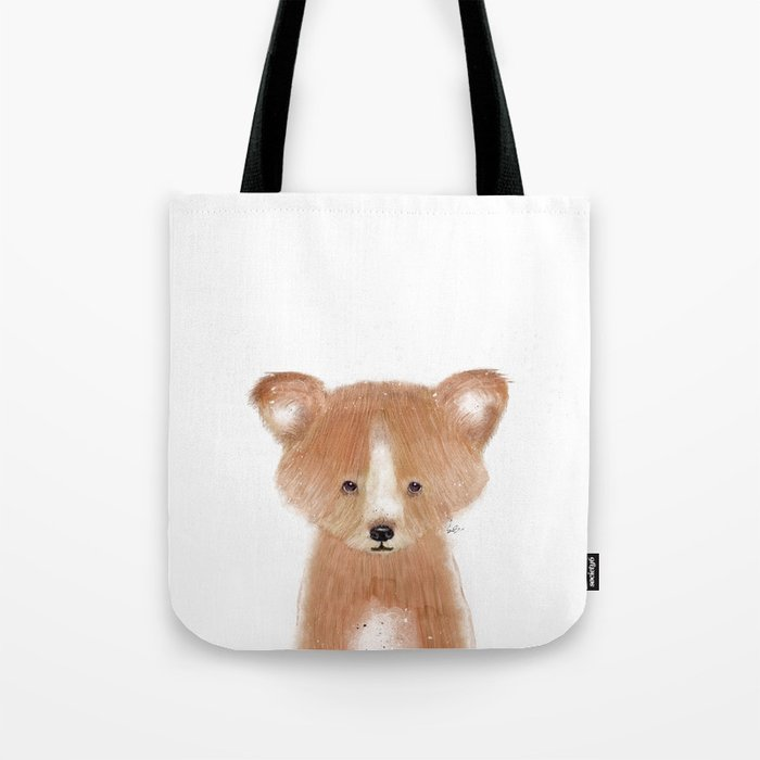 little red panda Tote Bag