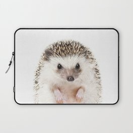 Baby Hedgehog, Baby Animals Art Prints by Synplus Laptop Sleeve