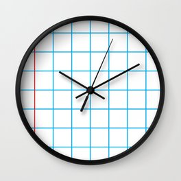 The Mathematician Wall Clock