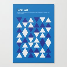 Free Will Canvas Print