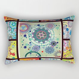 all zodiacs Rectangular Pillow