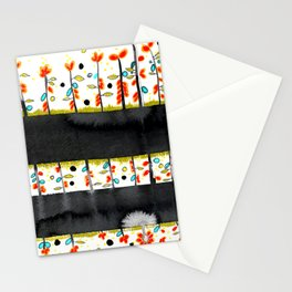 so many flowers Stationery Cards