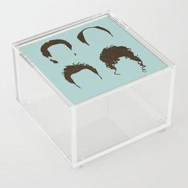 Seinfeld Hair Square Acrylic Box