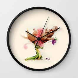 Dance of the Hours Wall Clock