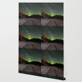 Northern Lights (Color) Wallpaper