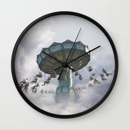 Logic is a systematic method of coming to the wrong conclusion with confidence. Wall Clock