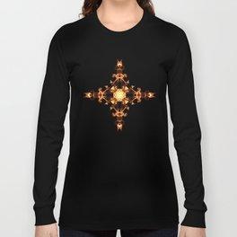 Fire Cross Long Sleeve T-shirt