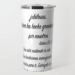 Risas - Salmo 126, 2. 3 Travel Mug