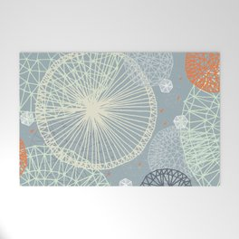 Geodesic by Friztin Welcome Mat