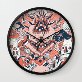 Lif Skogur Wall Clock