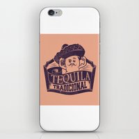 tequila iPhone & iPod Skins featuring Tequila Tradicional by Tshirt-Factory