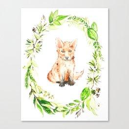 Kit Canvas Print