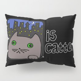 Is Catte Pillow Sham