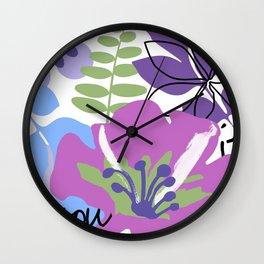 Frou Frou I Wall Clock
