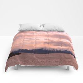 Rose Quartz Over Hope Valley Comforters