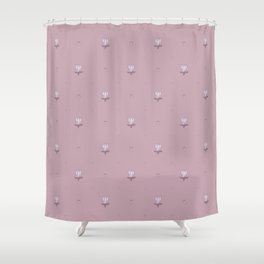 Ladybug and Little Flower. Shower Curtain